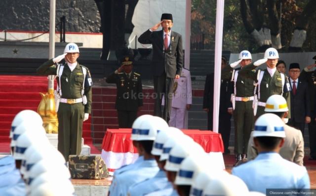 Presiden Jokowi. (Foto: Heru Haryono/Okezone)