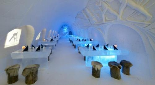 Snow Castle Restaurant Finlandia (Fine Dining lovers)