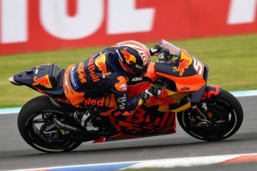 Johann Zarco saat tampil pada sebuah balapan di MotoGP 2019