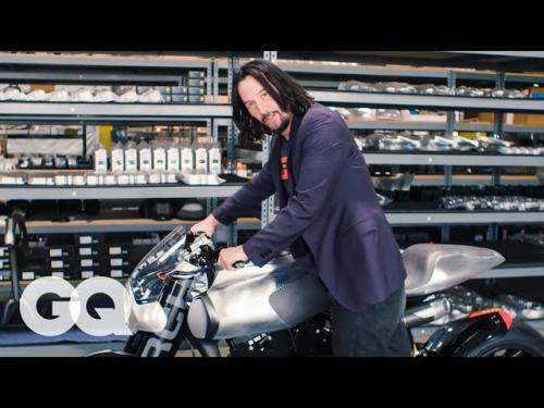 Keanu Reeves. (Foto: GQ)
