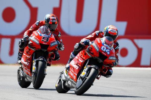 Duo pembalap Ducati Andrea Dovizioso dan Danilo Petrucci (Foto: MotoGP)