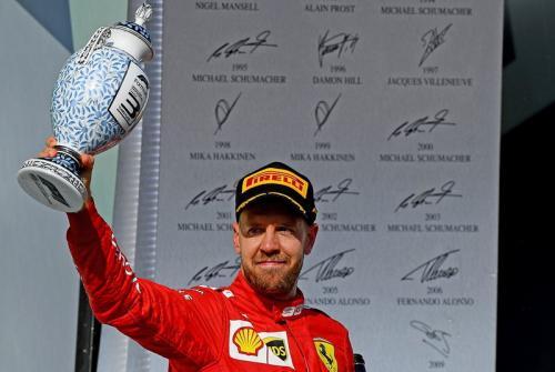 Penampilan Sebastian Vettel di F1 2019