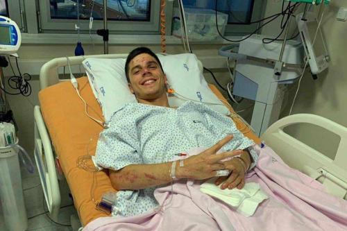 Joan Mir terluka setelah jatuh di Sirkuit Brno