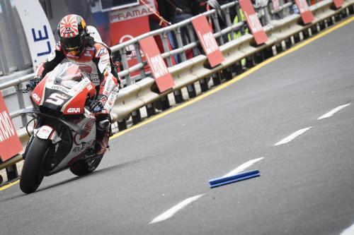 Johann Zarco bersama LCR Honda