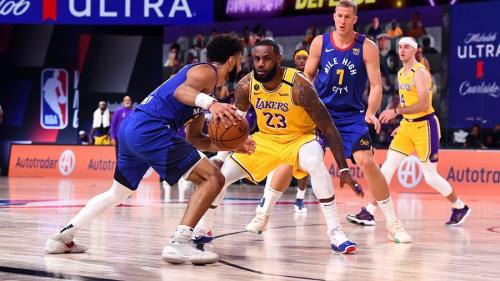 LA Lakers vs Denver Nuggets (Foto: Twitter/@NBA)