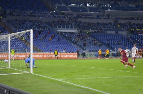 Laga AS Roma vs Benevento