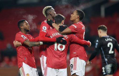 Man United menang 2-1 atas Aston Villa (Foto: Reuters/Carl Recine)