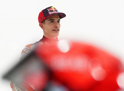 Marc Marquez (Foto: Twitter/@HRC_MotoGP)