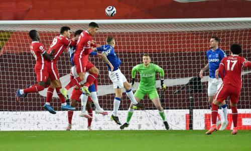 Liverpool vs Everton (Foto: Reuters)