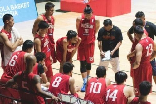 Timnas Basket Indonesia (Foto: Perbasi)
