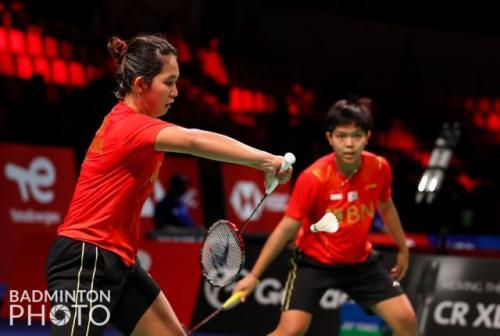 Siti Fadia Silva Ramadhanti/Ribka Sugiarto. Foto: Badminton Photo
