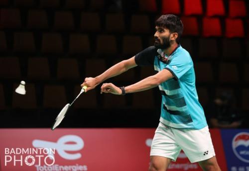 Srikanth Kidambi.  Photo: Badminton Photo
