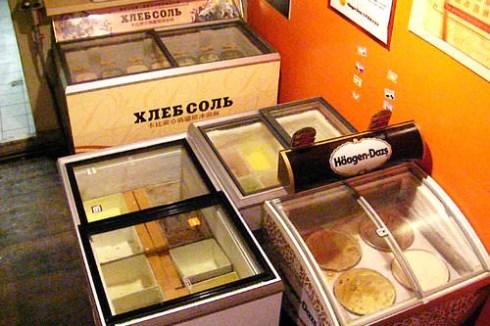 哈根答司、卡必索、明治品牌、東南亞明果,20多種口味 ,光吃冰淇淋就回本囉