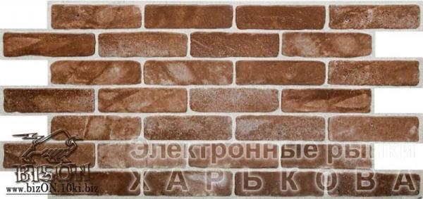 Кирпич «СТАРЫЙ КОРИЧНЕВЫЙ» Листовые панели ПВХ - Мозаика ...
