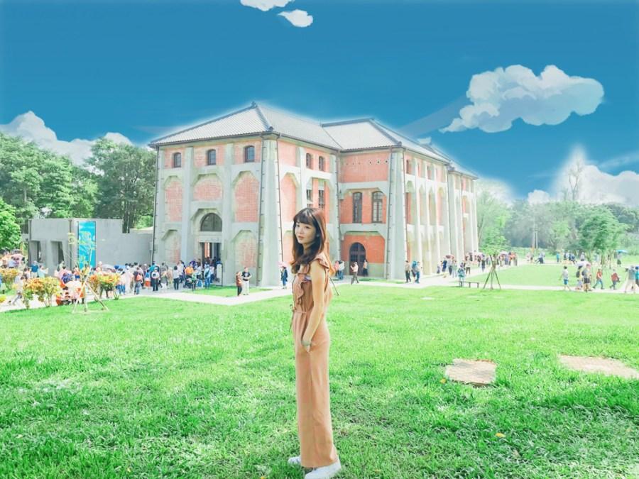 臺南山上花園水道博物館搶在雙十連假首日開館,跟著傻妞一起進來看看吧!