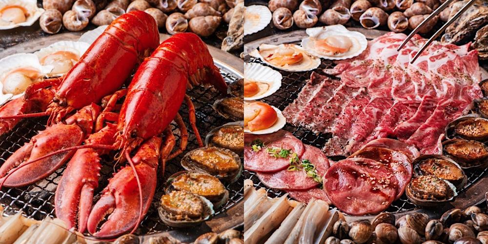 台南首創「整隻波士頓龍蝦」燒烤吃到飽【Scream尖叫精緻炭火燒肉】現撈泰國蝦、安格斯黑牛、西班牙伊比利豬,給你最頂級的奢華享受 !