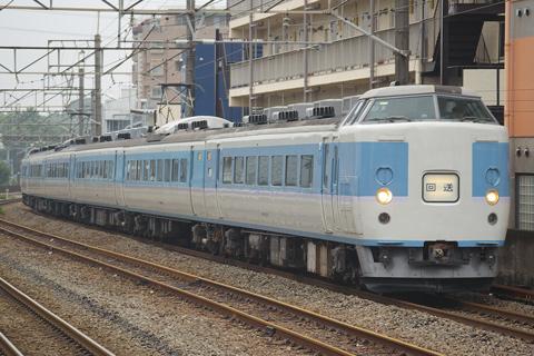 【JR東】クモヤ143-4(コツ車)TK入場