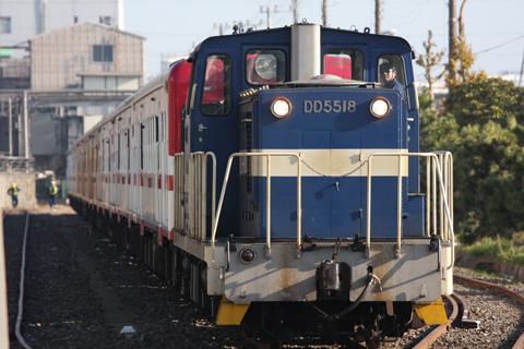 【JR東】95牽引キハ52 9両配給輸送