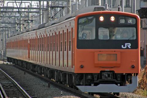 【JR東】201系H6編成廃車回送