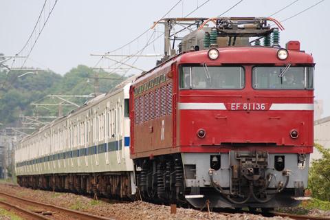 【JR東】415系K812編成廃車配給
