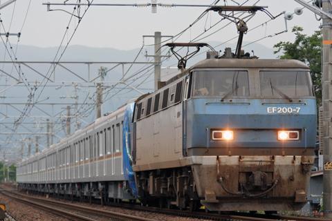 【メトロ】10000系10122F甲種輸送