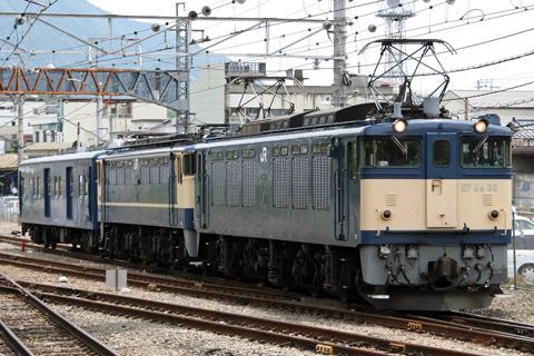 【JR東】EF65-1100+マニ50ー2191配給