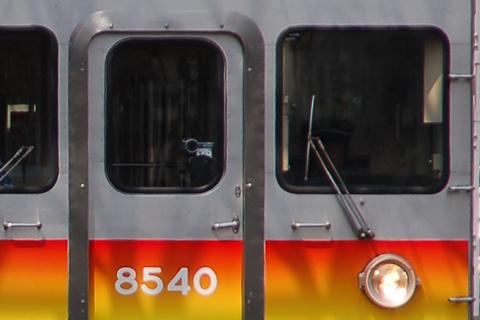 【東急】8500系8640F 撮影列車?