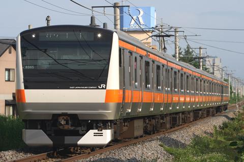 【JR東】E233系青665編成豊田へ返却