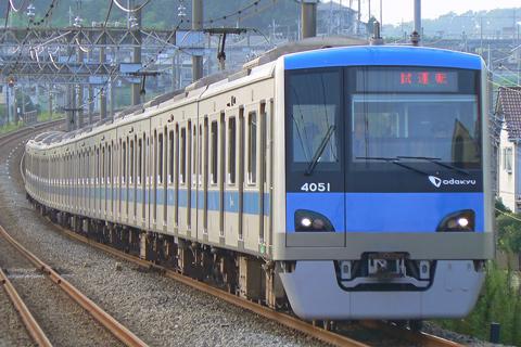 【小田急】4051F試運転