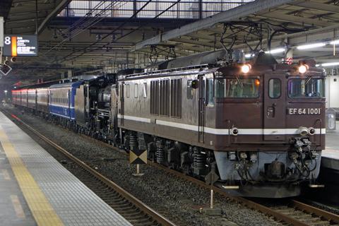 【JR東】D51-498+旧客など小牛田へ