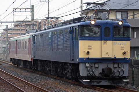 【JR東】マニ50-2186新習志野へ