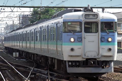 【JR東】115系C13編成ひまわり号