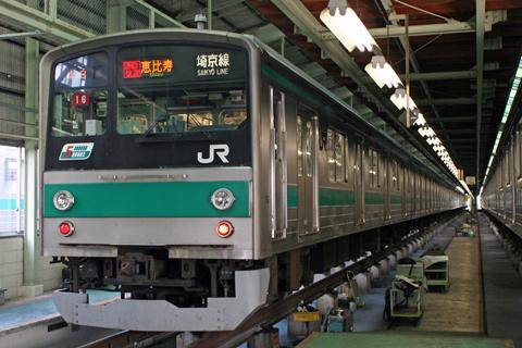 【JR東】川越車両センター一般公開