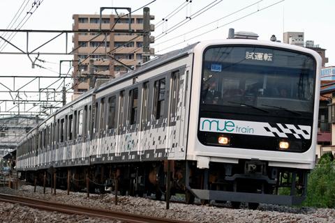 【JR東】MUE-Train高崎線試運転