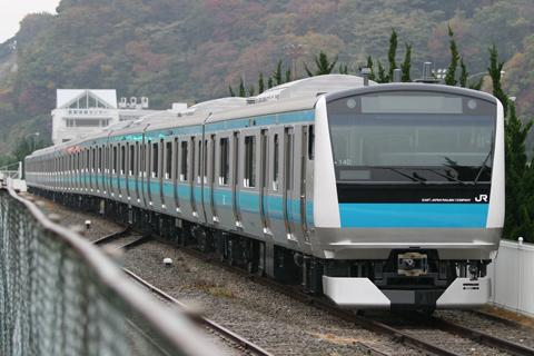 【JR東】E233系ウラ140編成東急出場
