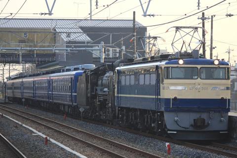 【JR東】D51-498+12系小牛田へ