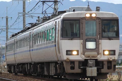 【JR西】タンゴエクスプローラー183代走
