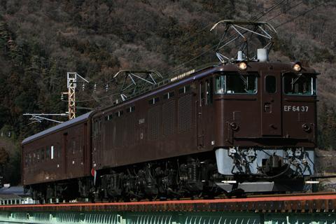 【JR東】EF64-37+オハニ36-11試運転