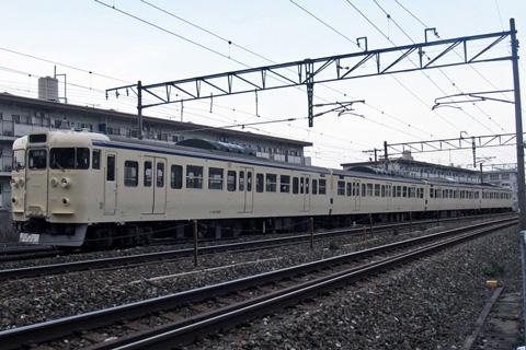 【JR九】東から譲渡415系構内試運転