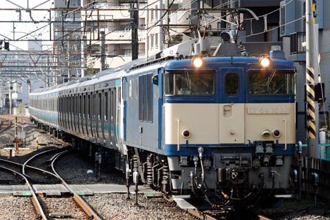【JR東】E233系ウラ147編成配給輸送