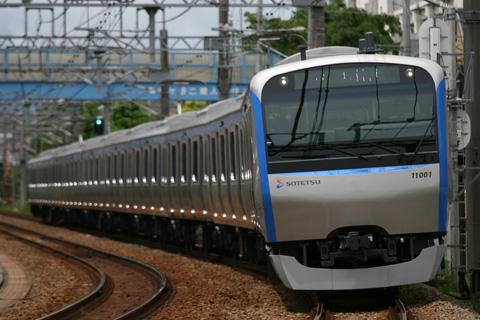 【相鉄】11001F日中初本線試運転