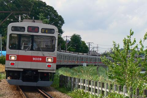 【東急】9000系9009F長津田工場へ