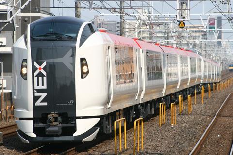 【JR東】E259系6連2本東急出場