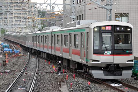 【東急】溝の口駅列車停止位置調整