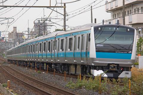 【JR東】E233系ウラ180編成東急出場