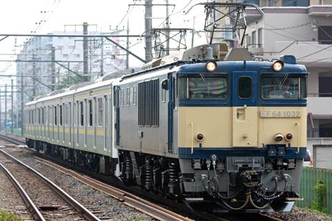 【JR東】209系マリC404編成出場配給