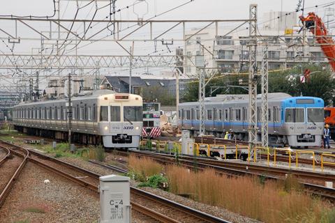 【京王】1721F(渋谷側2両)搬入