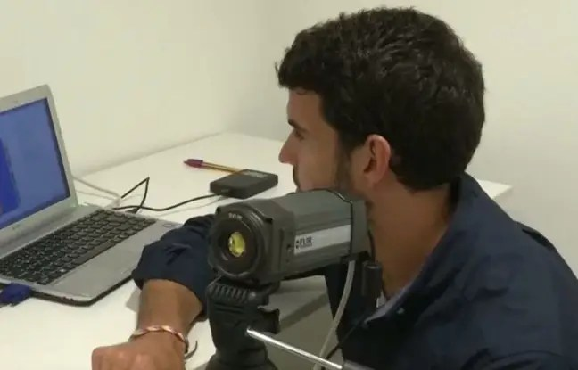 Une caméra thermographique qui permet de détecter le sentiment amoureux, selon des chercheurs de Grenade, en Espagne.