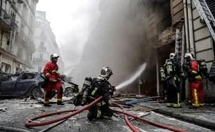 Une forte explosion s'est produite dans une boulangerie le 12 janvier dans le 9e arrondissement de Paris