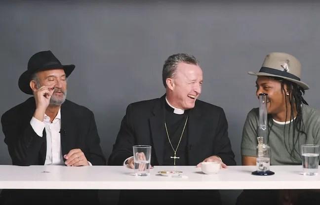 Après quelques joins, le débat religieux entre un Rabbin, un prêtre et un athée s'est apaisé.